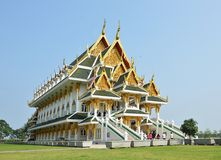 New modern Buddhist church Royalty Free Stock Photos