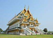 New modern Buddhist church Royalty Free Stock Photos