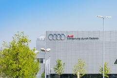New modern building of Audi Training Center in Munich Stock Image