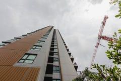 New modern building condo Stock Photos
