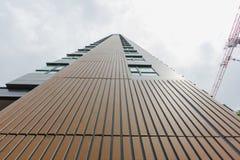 New modern building condo Royalty Free Stock Photos