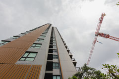 New modern building condo Stock Photo