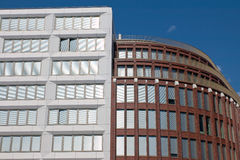 New modern buildings in Berlin Royalty Free Stock Images