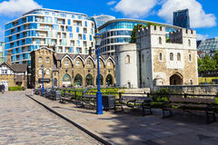 New modern buildings at London  City Stock Photography