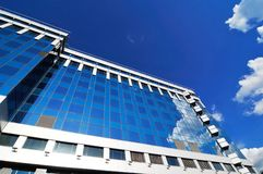 New modern business centre royalty free stock photography