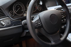 New modern car interior Stock Images