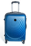 New modern carbon suitcase Stock Image