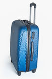 New modern carbon suitcase Royalty Free Stock Photography