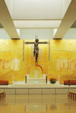 New and modern cathedral of Fatima Royalty Free Stock Photo