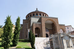 New modern church #7. Salsomaggiore Italy Stock Images