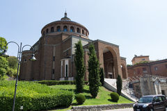 New modern church #5. Salsomaggiore Italy Stock Image