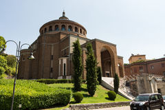 New modern church #4. Salsomaggiore Italy Stock Images