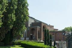 New modern church. Salsomaggiore Italy Stock Photo