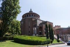 New modern church #2. Salsomaggiore Italy Stock Photo