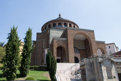 New modern church #6. Salsomaggiore Italy Stock Photos