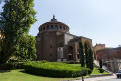 New modern church #3. Salsomaggiore Italy Royalty Free Stock Photo