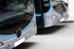New modern city bus Royalty Free Stock Photo