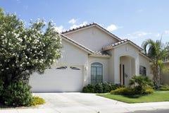 New Modern Classic Home. New modern desert classic home near Phoenix, Arizona, USA stock photos