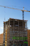New Modern Commercial Building Construction Royalty Free Stock Image