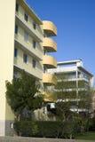 New modern condominium building stock photo