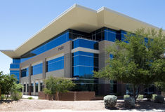 New modern corporate office building exterior Royalty Free Stock Image