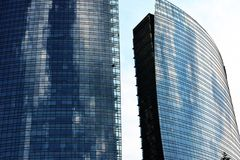 New modern district in Milan Royalty Free Stock Images