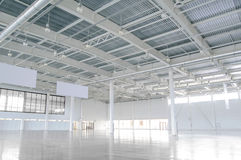 New Modern Empty Storehouse royalty free stock photos
