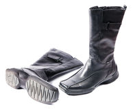 New modern female footwear royalty free stock photo