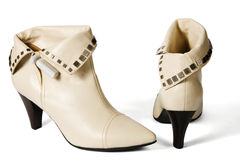 New modern female shoes Royalty Free Stock Photo