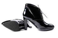 New modern female shoes Stock Photo