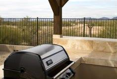 New Modern Home Backyard In The Desert