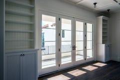 New Modern Home Mansion Living Room. Living room of new modern Arizona mansion home royalty free stock photo