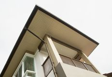 New modern house exterior royalty free stock images
