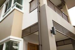 New modern house exterior. Facade royalty free stock photo