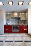 New modern kitchen Stock Photo