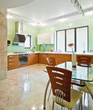 New modern kitchen interior Stock Photo