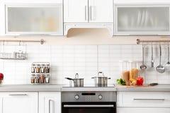 New modern kitchen interior Stock Photos