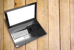 New modern laptop Royalty Free Stock Photos