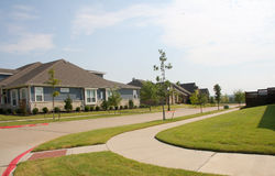 New community  buildings Royalty Free Stock Photography