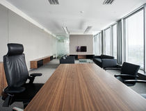 New modern office Royalty Free Stock Photos