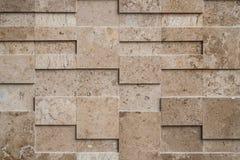 New modern stone wall Stock Photo