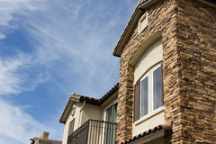 New Modern Townhouse Royalty Free Stock Photo
