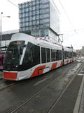 New modern tram Royalty Free Stock Photo