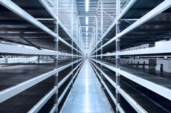 New and modern warehouse royalty free stock images