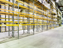 New and modern warehouse royalty free stock photography