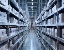 New and modern warehouse Stock Image