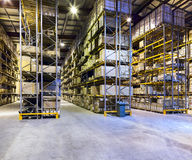 New and modern warehouse Royalty Free Stock Photos