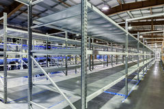 New and modern warehouse Royalty Free Stock Image