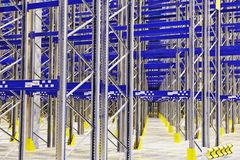 New modern warehouse rack Stock Image
