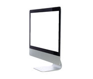 New monitor computer display side Royalty Free Stock Photography